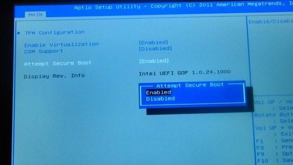 Windows 10 y arranque seguro: ¿Está Linux realmente condenado?