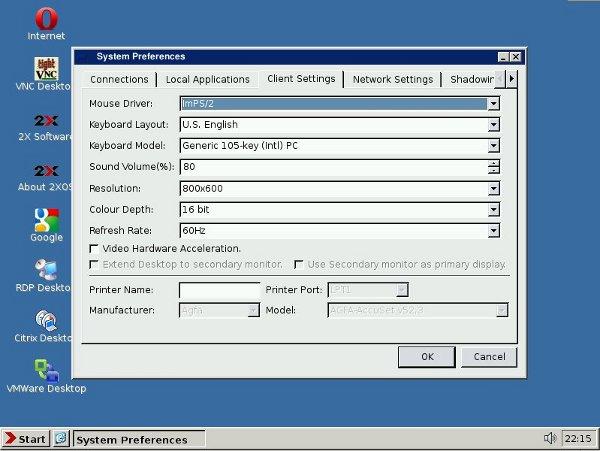 2X ThinClientOS: Un sistema Thin Client basado en Linux