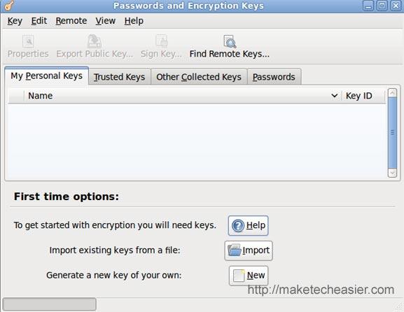Auto-Unlock Keyring Manager en Ubuntu Intrepid