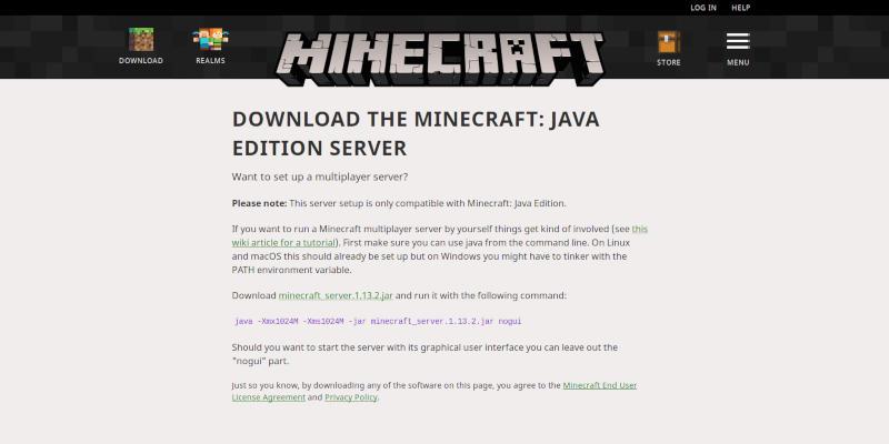Cómo alojar su propio servidor Minecraft