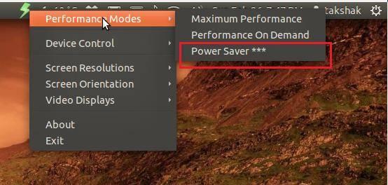 Cómo arreglar la baja potencia de la batería y el problema de sobrecalentamiento en Ubuntu 11.10