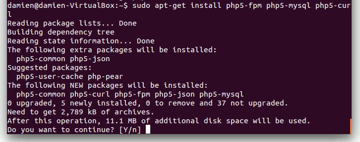 Cómo configurar la pila de LEMH (Linux, Nginx, MariaDB, HHVM) en el servidor Ubuntu