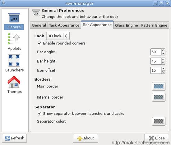 Cómo conseguir un muelle estilo Mac OSX en Hardy Heron