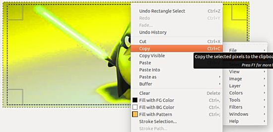 Cómo copiar y pegar imágenes directamente en el portapapeles en Ubuntu Nautilus