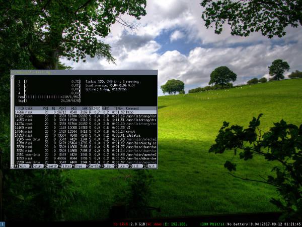 Cómo crear combinaciones de colores para que coincidan con su fondo de pantalla en Linux