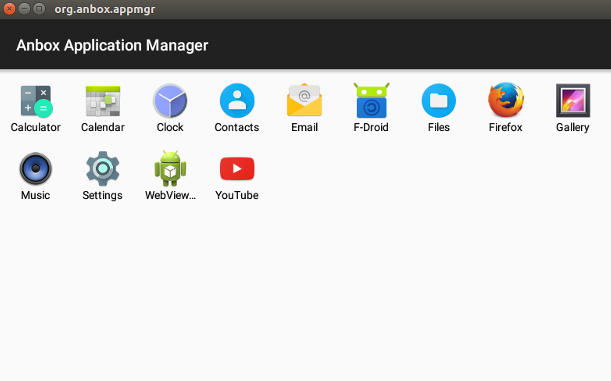 Cómo ejecutar aplicaciones Android en Ubuntu Linux con Anbox
