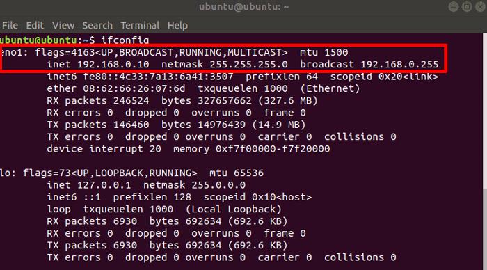 Cómo establecer una dirección IP estática en Ubuntu
