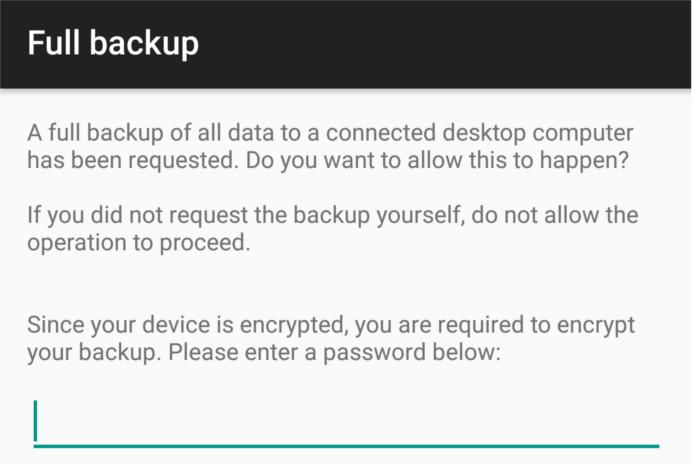 Cómo hacer una copia de seguridad de sus datos de Android con ADB en Ubuntu