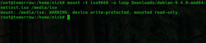 Cómo montar un archivo ISO en Linux
