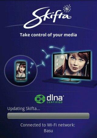 Cómo Transmitir Medios a tu Dispositivo Android con Skifta