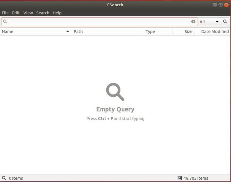 Cómo usar FSearch para buscar archivos rápidamente en Linux