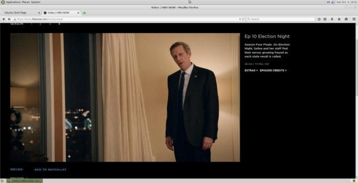Cómo ver HBO ahora en Ubuntu