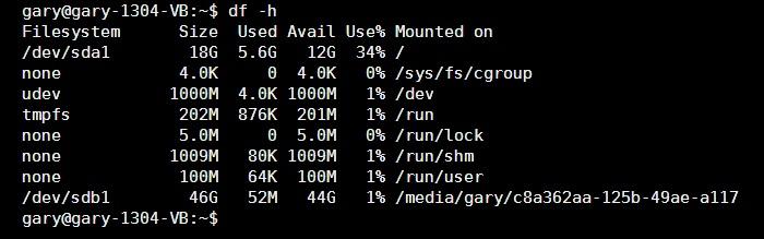 Entendiendo el Linux df y du Commands