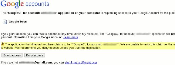 Guía para principiantes para utilizar GoogleCL