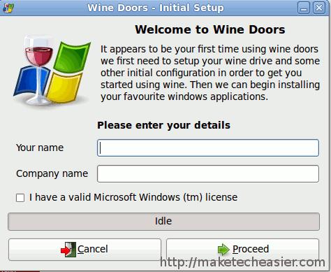 Instale fácilmente aplicaciones Windows en Linux con Winedoors