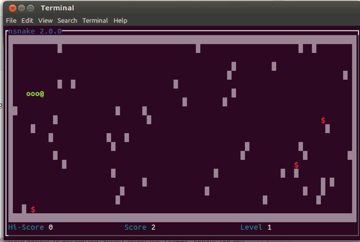 Juega al clásico juego de la serpiente en el terminal Linux