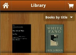 Leer libros electrónicos en Android utilizando Aldiko Book Reader