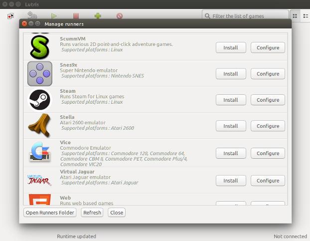 Maneje su biblioteca de juegos de Linux con Lutris