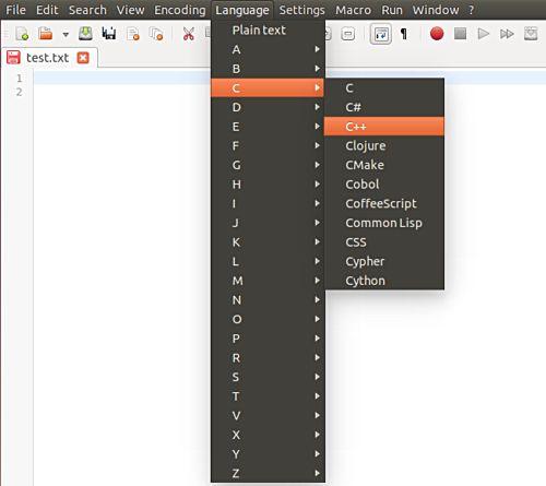 Notepadqq: Notepad++ Alternativa para Linux