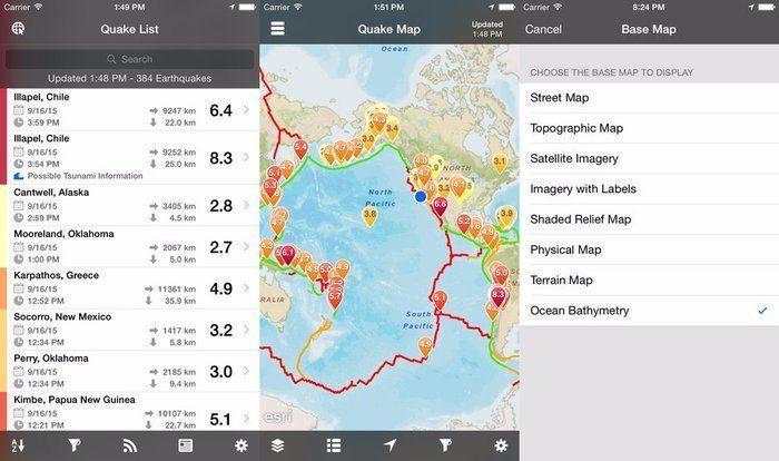 Obtenga alertas tempranas de terremotos con estas 4 aplicaciones
