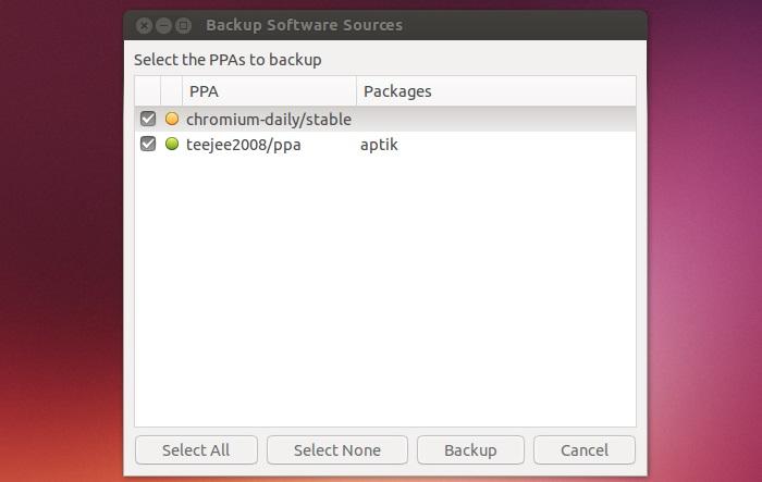 Reinstalación de sus paquetes favoritos después de una reinstalación de Ubuntu con Aptik
