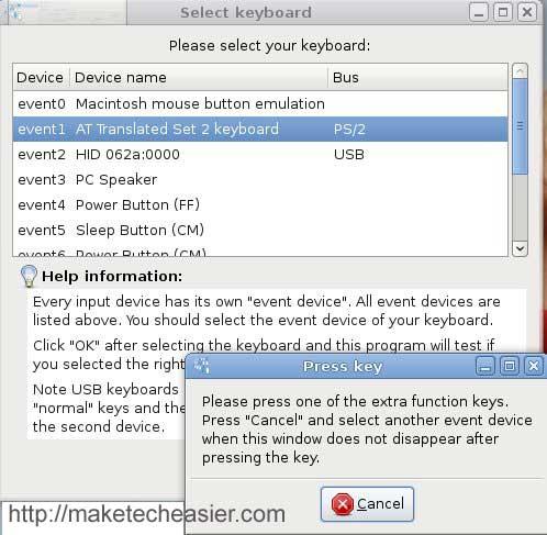 Tecla táctil: Recupere la funcionalidad completa de su teclado