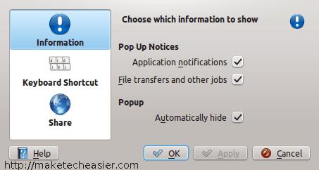 Una guía para el sistema de notificación KDE