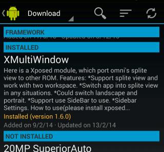 XMultiWindow: Abrir aplicaciones de Mutliple Android en vistas divididas