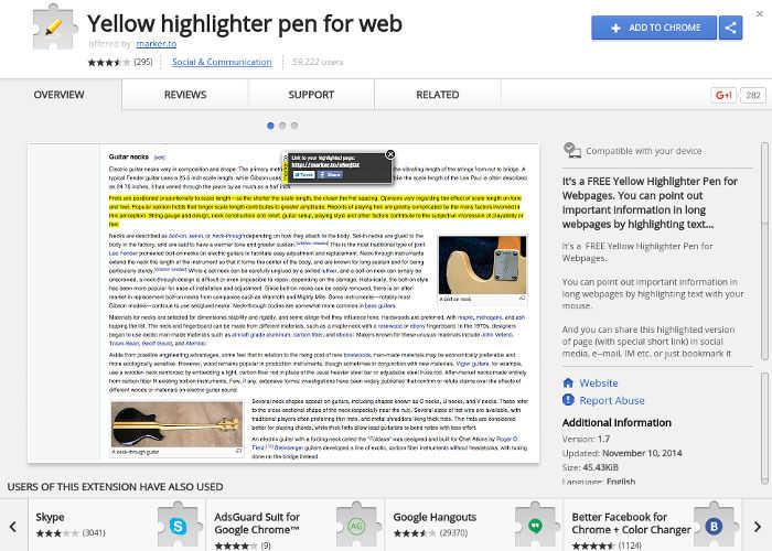 6 de las Mejores Extensiones de Google Chrome para Anotar Texto en la WebDestacar texto en la Web es muy útil cuando se lee o se investiga. Aquí están las mejores extensiones de Chrome para anotar texto en la Web. Mírenlos!