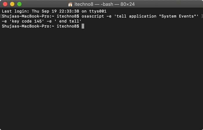 Cómo ajustar el brillo de la pantalla desde el terminal en macOS. Si eres un usuario de Terminal, puedes ajustar el brillo de la pantalla de tu Mac directamente desde el Terminal. Aquí están los comandos para hacerlo.