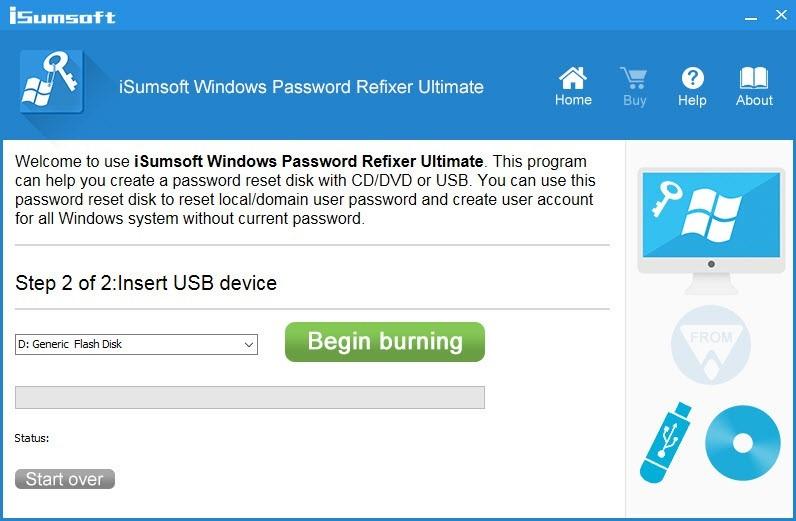 Una contraseña de Windows perdida no es ningún problema con iSumsoft Windows Password Refixer. Cuando haya olvidado su contraseña de Windows y esté bloqueado fuera de su computadora, puede usar iSumsoft Windows Password Refixer para restablecer su contraseña de Windows.