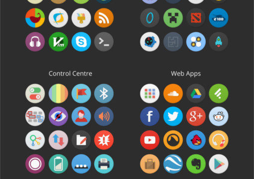 5 hermosos temas de iconos para Linux