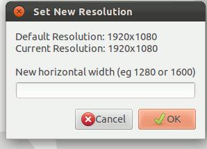 Cómo aumentar la resolución de la pantalla más allá de la configuración predeterminada[Linux].