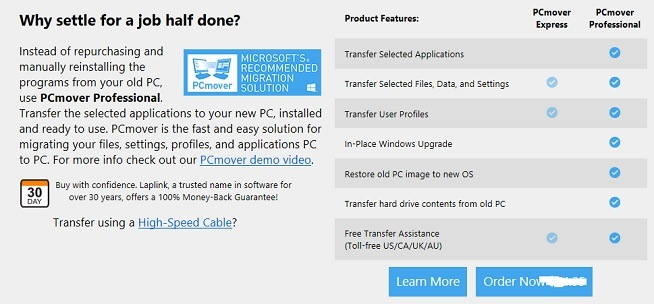 Cómo transferir programas de un PC con Windows a otro