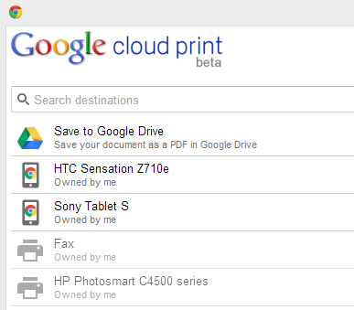 Imprime archivos de forma remota en Windows con Google Cloud Print