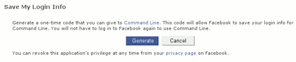 Social Media from the Command Line, Parte 1: Facebook y Twitter