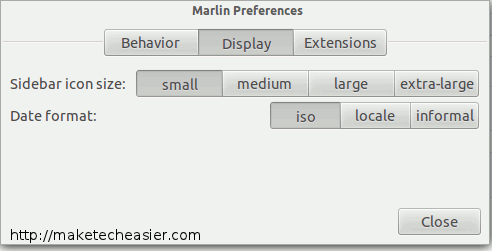 Usando Marlin File Manager como Nautilus Alternative[Linux]