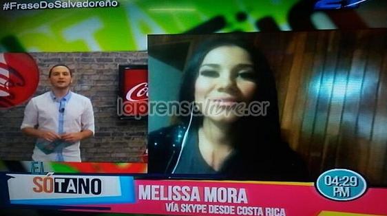 Video: Melissa Mora celebra desnuda éxito en Nicaragua y El Salvador