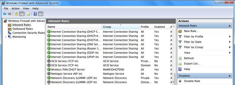 4 Software gratuito de cortafuegos para proteger un entorno Windows