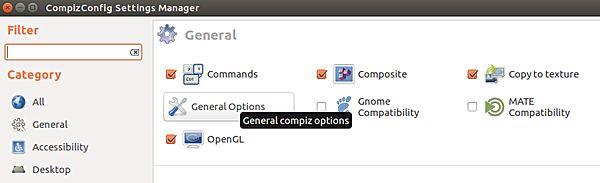 Ajustar el número de espacios de trabajo en Unidad[Ubuntu]