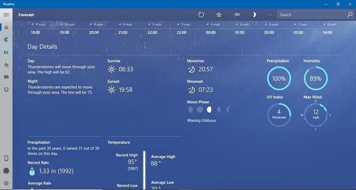 Cómo comprobar el tiempo en su escritorio de Windows 10. Si utiliza Windows 10, puede utilizar estas aplicaciones para comprobar el tiempo en su escritorio, ya que proporcionan información más detallada que Google.