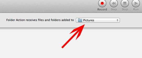 Cómo configurar acciones de carpetas para redimensionar automáticamente las imágenes de su carpeta[Mac].