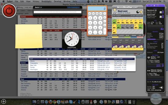 Cómo crear tus propios widgets del panel de control de OS X desde Safari