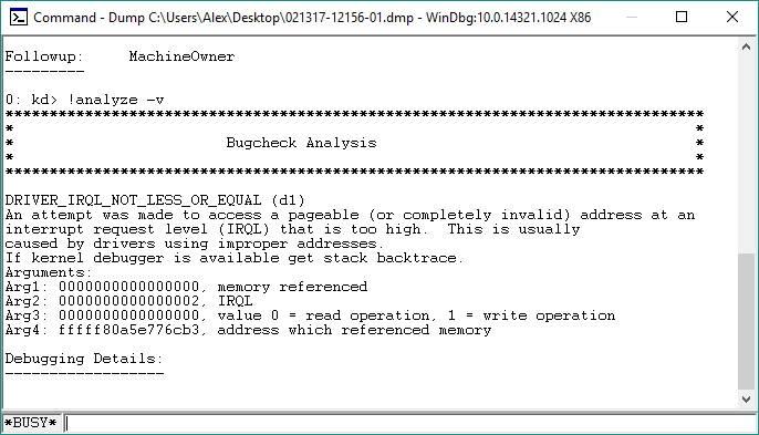 Cómo diagnoizar y corregir errores BSOD basados en controladores