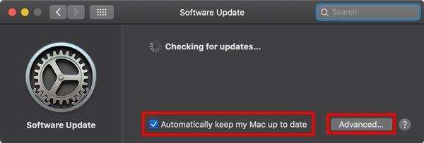 Cómo habilitar las actualizaciones automáticas para macOS