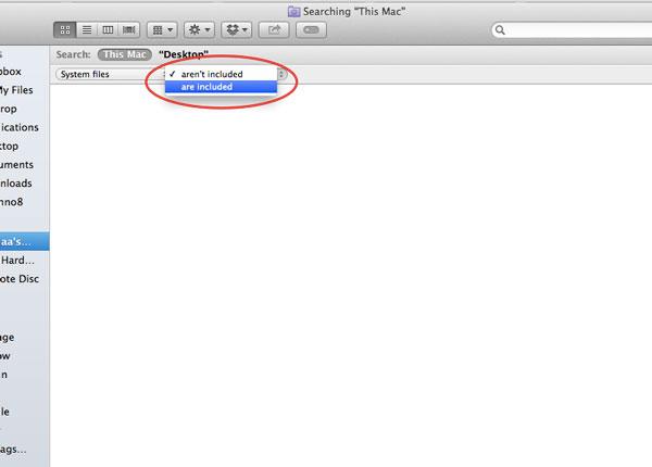 Cómo incluir archivos del sistema en las búsquedas de OS X[Consejos rápidos]