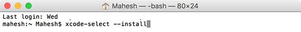 Cómo instalar herramientas de línea de comandos sin Xcode en tu Mac