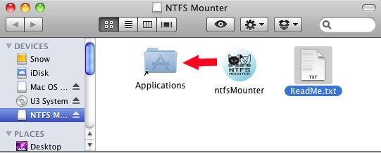 Cómo montar fácilmente una partición NTFS en Mac Snow Leopard