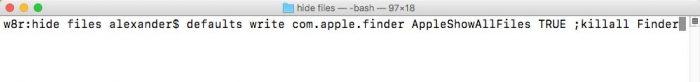Cómo ocultar archivos y carpetas en tu Mac