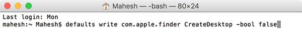 Cómo ocultar los iconos del dispositivo en el escritorio de un Mac